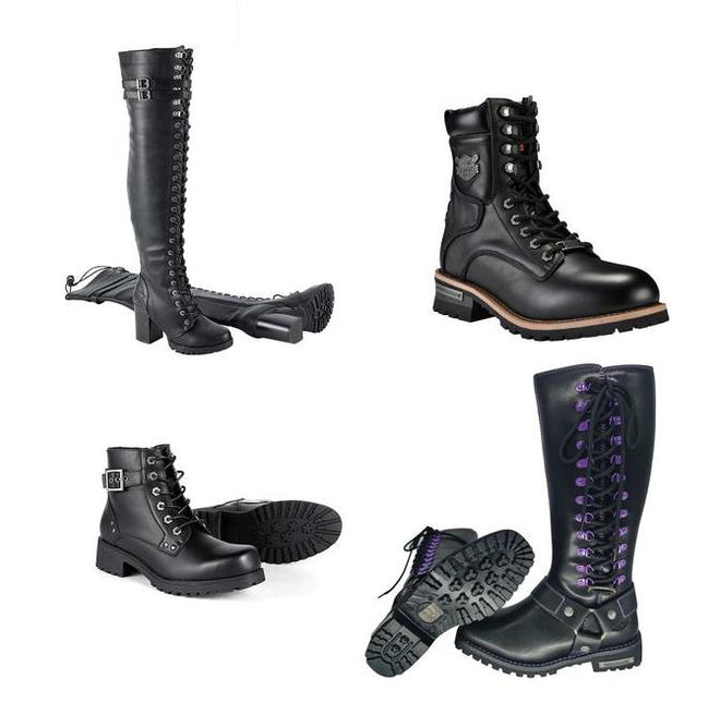 Biker Motorcycle Boots by Milwaukee Rider®
