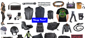 Club Vest Biker Motorcycle Apparel & Accessories