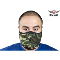 best-motorcyle-vest - Camouflage Motorcycle Face Mask - Club Vest Biker Motorcycle Apparel & Accessories - misc