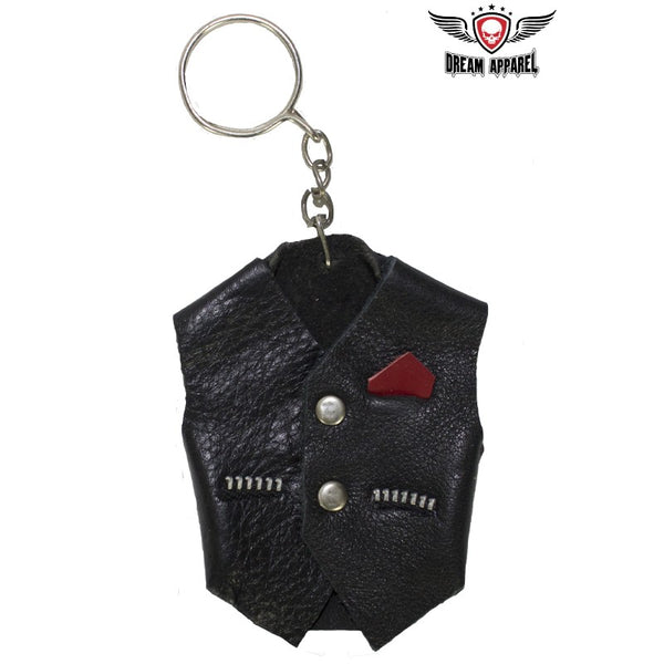 best-motorcyle-vest - Key Chain Vest - Club Vest Biker Motorcycle Apparel & Accessories - misc
