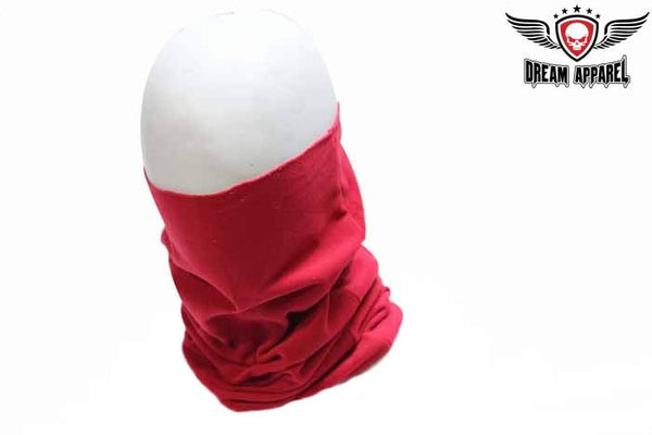 Motorcycle Red Face Mask