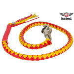 Red & Yellow Get Back Whip For Motorcycles