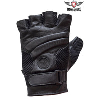 best-motorcyle-vest - Motorcycle Fingerless Gel Padded Gloves - Dream Apparel® - motorcycle gloves