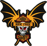 Motorcycle Ride Free Patch