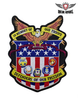 In Memory of Our Troops Patch
