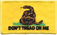 """Don't Trad On Me"" Snake Patch"
