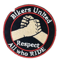 Bikers United, Respect All Who Ride Patch