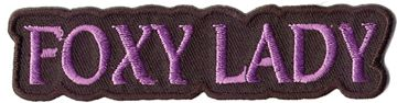 """Foxy Lady"" Patch"