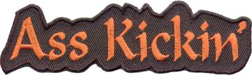 """Ass Kickin'"" Patch"