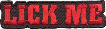 """Lick Me"" Patch"