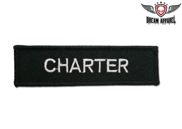 Charter Motorcycle Patch