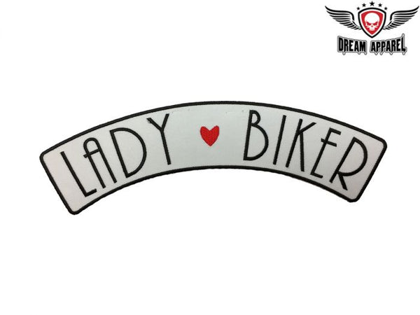 Lady Biker Top Rocker