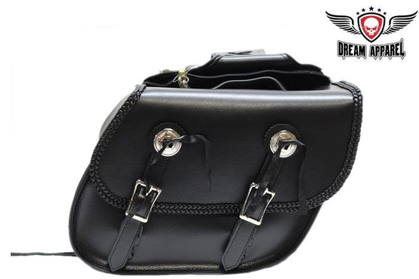 Braided Motorcycle Saddlebag With UV Protection