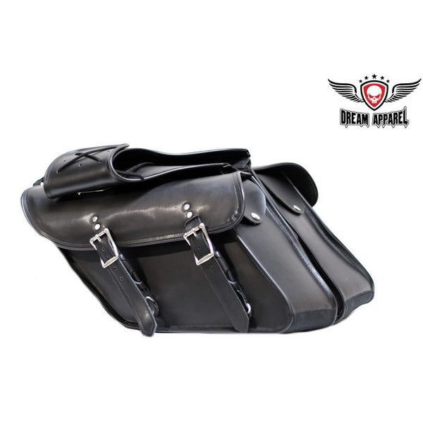best-motorcyle-vest - Motorcycle Saddlebag For Harley Davidson Dyna's - Club Vest Biker Motorcycle Apparel & Accessories - Motorcycle Bags
