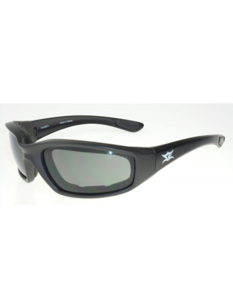 Premium Padded Riding Glasses with Grey Anti Fog Lens
