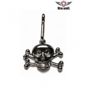 Large Crossbones Zipper Puller