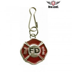 Fire Department Zipper Puller