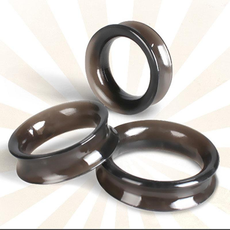 Bella Pleasure Silicone Smooth Cock Rings (3 pieces)