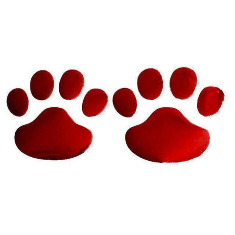 Image of Paw Print Car Decals