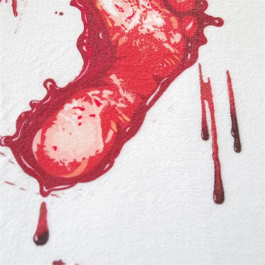 Sale - Anti-Slip Bloody Footprints Bath Mat