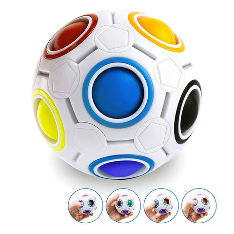 Image of Sale - Rainbow Puzzle Ball