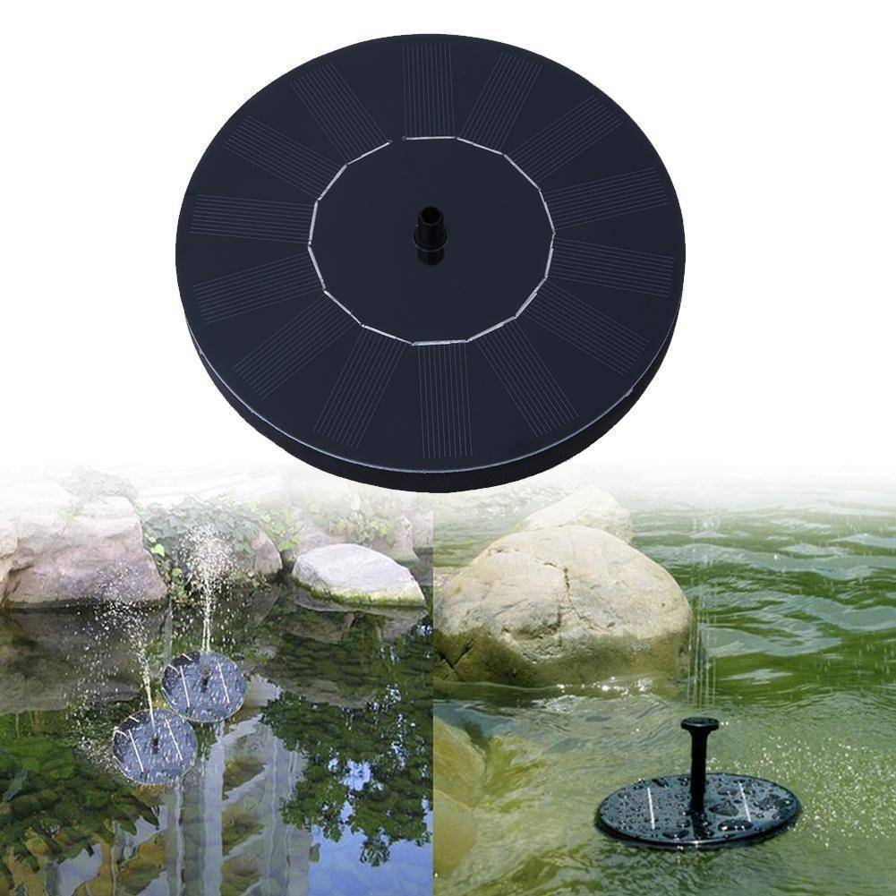 Sale - Solar Panel Water Fountain
