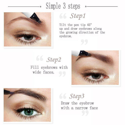 Image of Sale - Waterproof Fork Tip Eyebrow Tattoo Pen
