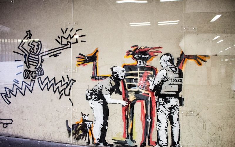 Rebellious Kid of Streets; Banksy and His Art
