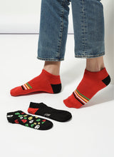 Skeleton 3 Pack Low Cut Socks