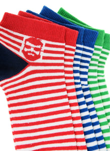 Johnny 3 Pack Low Cut Socks