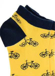 Bicycle Low Cut Socks