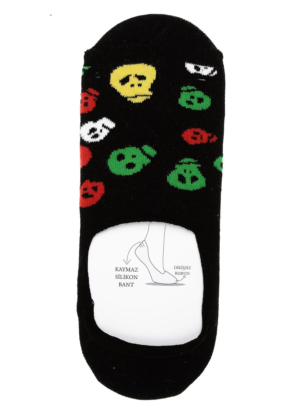 Skeleton Invisible Liner Sock