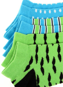 Moustache Jr. 3 Pack Low Cut Socks