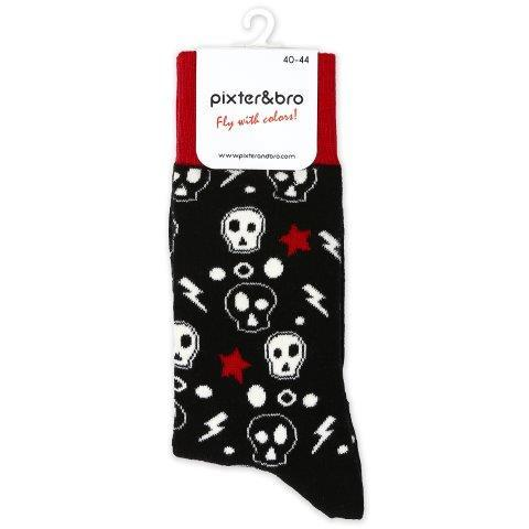 Skull socks,Mens socks, men socks, ankle socks, cotton socks, scented socks, funky socks, colourful socks