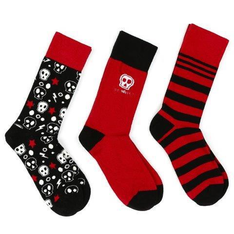Skull three-socks