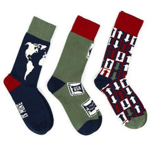 Travel three-socks