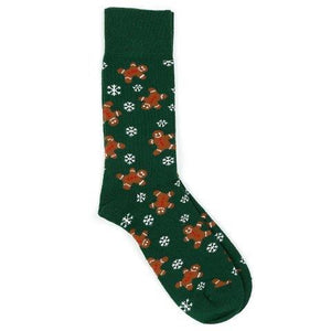 Christmas Man Green socks