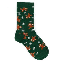 Christmas Woman Green socks