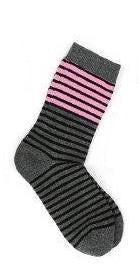 Schoolgirl  Black Stripes socks