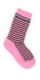Schoolgirl  Pink Stripes socks
