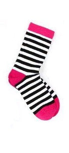 Brightgirl  Black Stripes socks