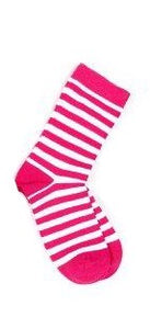 Brightgirl  Pink Stripes socks