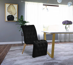 Curtis Velvet Dining Chair in 4 Color Options