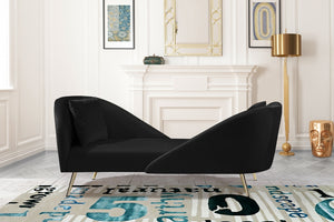 Norina Velvet Chaise in 6 Color Options