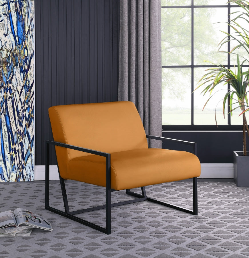 Contemporary Leatherette Accent Chair in 3 Color Options