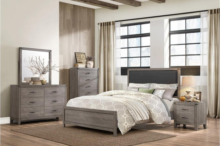Woody Industrial Bedroom Collection