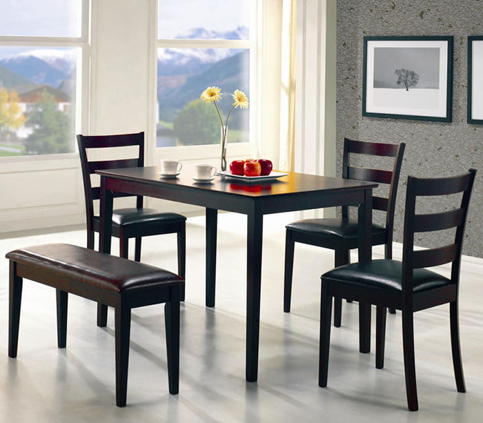 Taraval 5 Piece Dinette With Bench