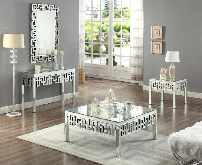 Aris Mirrored Occasional Tables Collection
