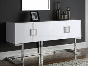 Bethany Contemporary Sideboard in Black or White