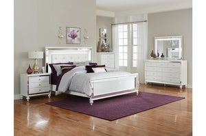 Ilona Bedroom Collection with LED Lighting